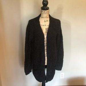 DECREE long sleeve, fuzzy cardigan. NWT